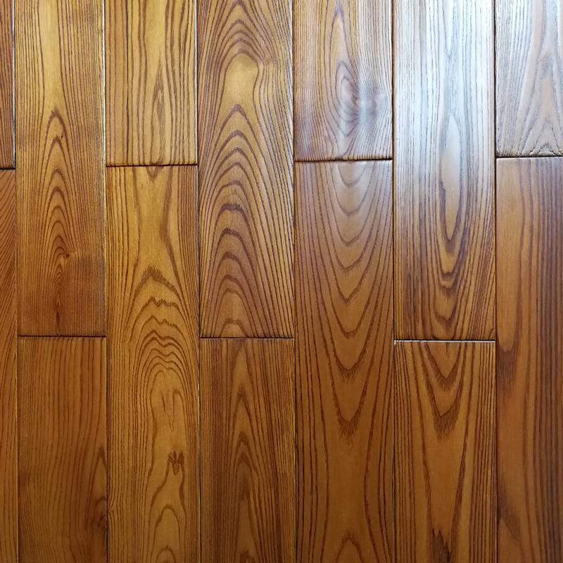 馨踏纯实木地板 欧洲白蜡木地板原木纯实木地板实木地板厂家直销