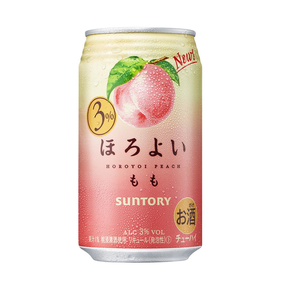 6 罐女生甜酒 三得利和乐怡微醺鸡尾酒 350ml 日本进口桃子酒白桃味
