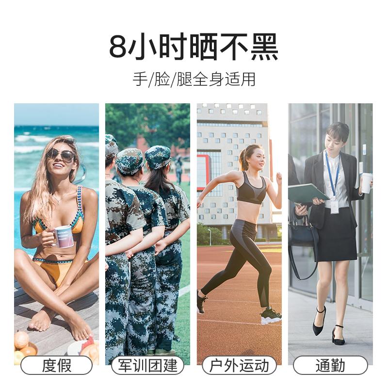 【3支】日本娜丽丝防晒喷雾女防紫外线全身学生防晒隔离霜spf50