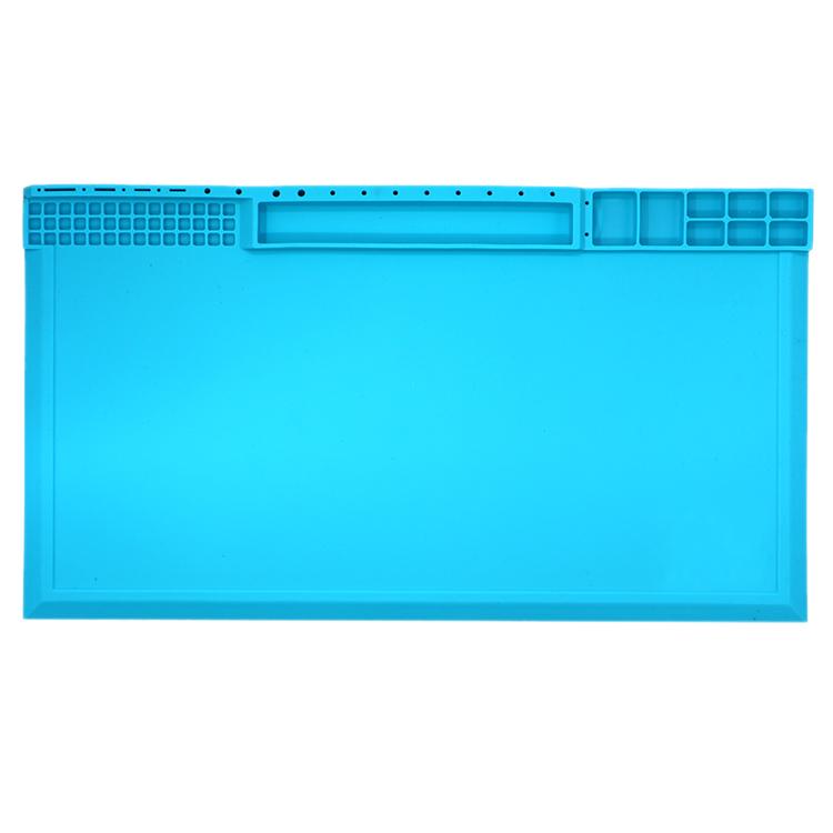 手机电脑维修台磁性隔热工作桌垫防静电焊台硅胶台耐高温拆机垫子