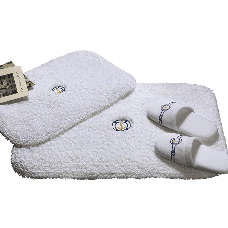 康尔馨五星级酒店浴室防滑垫子卫生间进门口地垫柔软吸水加厚脚垫