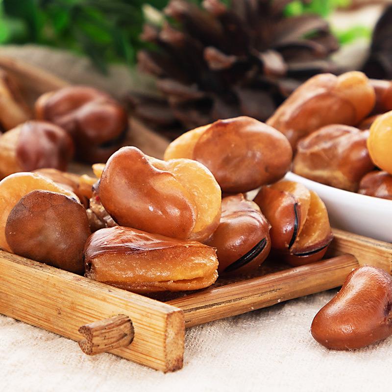斤兰花豆小包装下酒菜馋豆 1 斤 4 斤 24 袋 6 蚕豆散装整箱装零食 酥香园