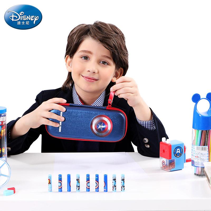 迪士尼小学生卡通元素文具铅笔盒