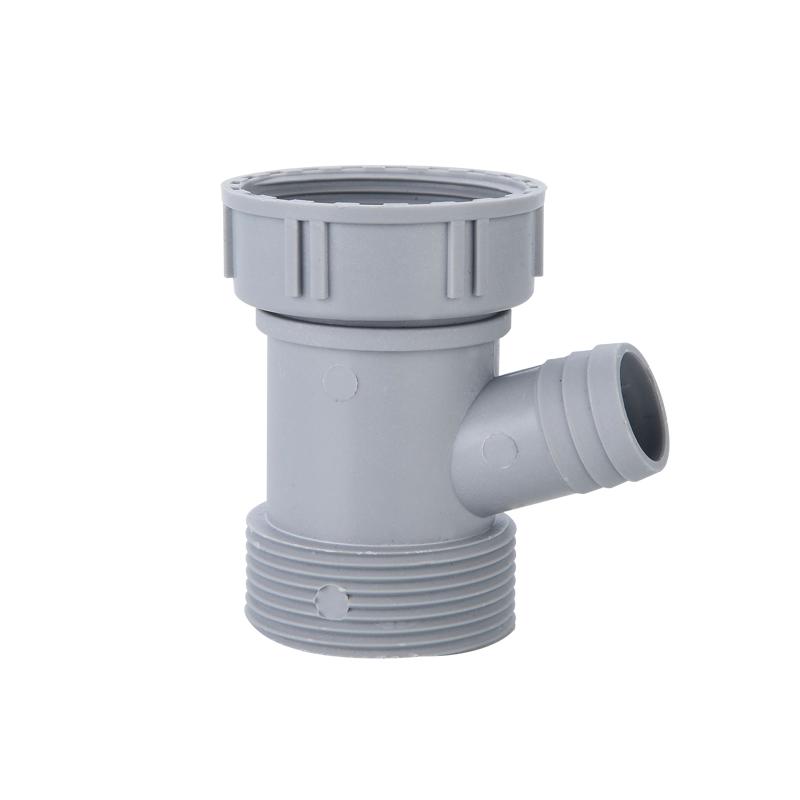 洗菜盆下水管三通头水槽洗碗机排水接头厨房单槽洗碗池下水器配件