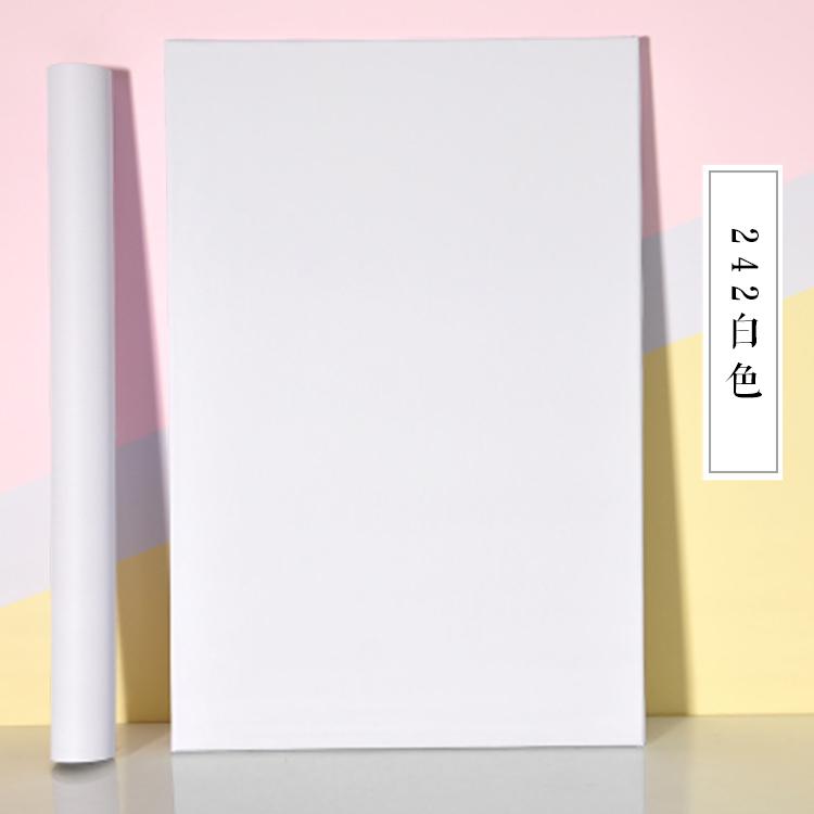 米簡約純白色墻紙自粘防水防潮客廳溫馨宿舍臥室電視背景墻壁紙 10