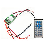 Solar street light circuit control board with remote control 7.4V9.6V boost output solar street light controller