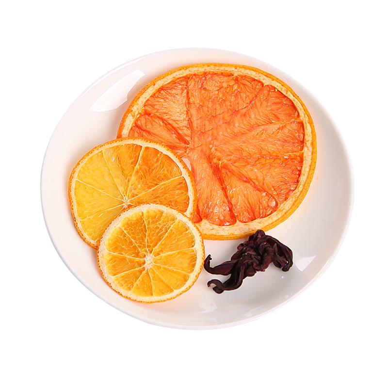 水果茶纯果干新鲜手工花果茶果粒茶组合袋装网红水果片果干花茶包