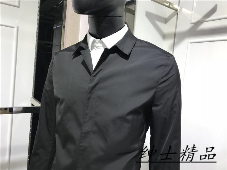 元 3900 吊牌价 男士暗门襟短款秋季风衣 色 2 品牌专柜正品