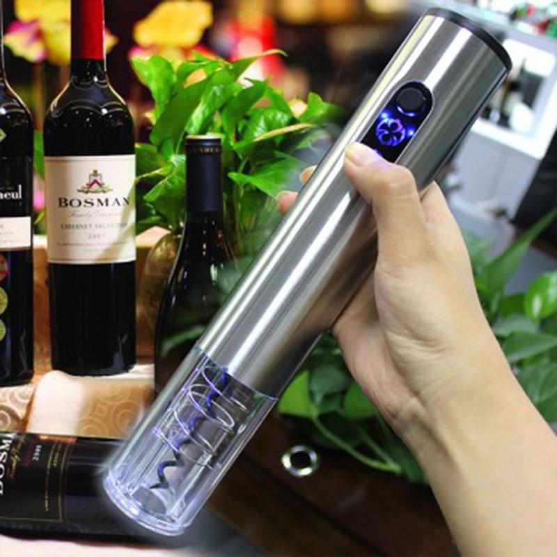 刻字定制电动红酒开瓶器家用葡萄红酒起瓶器全自动红酒开酒器套装