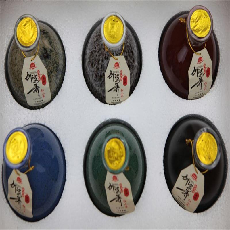 包邮 河南红小米黄酒南阳特产石龙堰外婆乔十年窖藏手工古法酿造