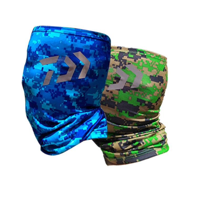 新款包邮莱卡钓鱼头巾防晒防蚊速干牛奶冰丝百变魔术围脖遮热面罩