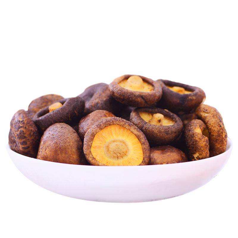 泌阳特产 菇乡菇香 菇达 香菇脆片 即食香菇脆零食脆香菇干蔬果干