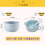 Children's tableware bowl with handle drop resistance insulation home cartoon children eat baby food supplement for children Bowl