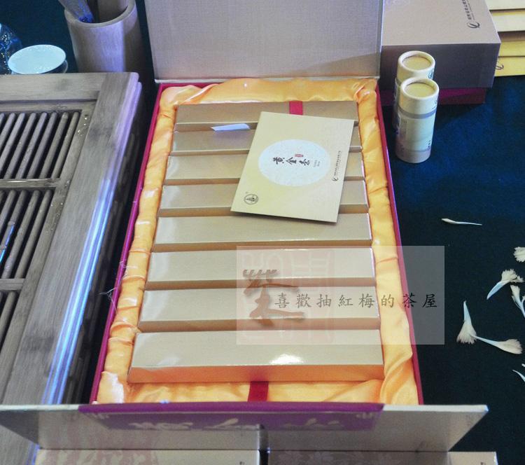 克精装礼盒 450 黄金条 2013 君山银针 紧压黄茶 十大名茶 湖南特产