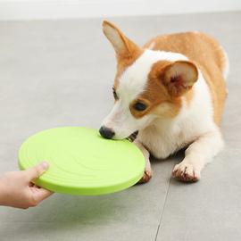 飞盘狗飞碟狗狗玩具耐咬边牧专用泰迪训练的金毛道具训狗宠物用品