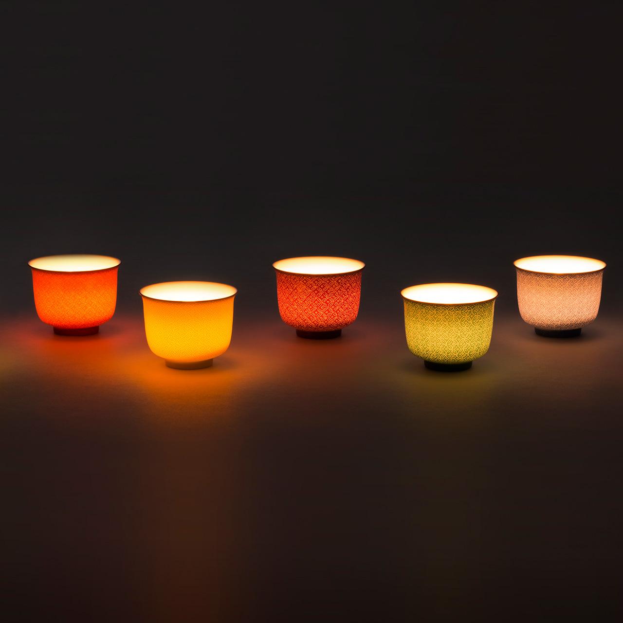 SHANGXIA 烛台底座简约 锦上添花系列瓷器烛台 上下