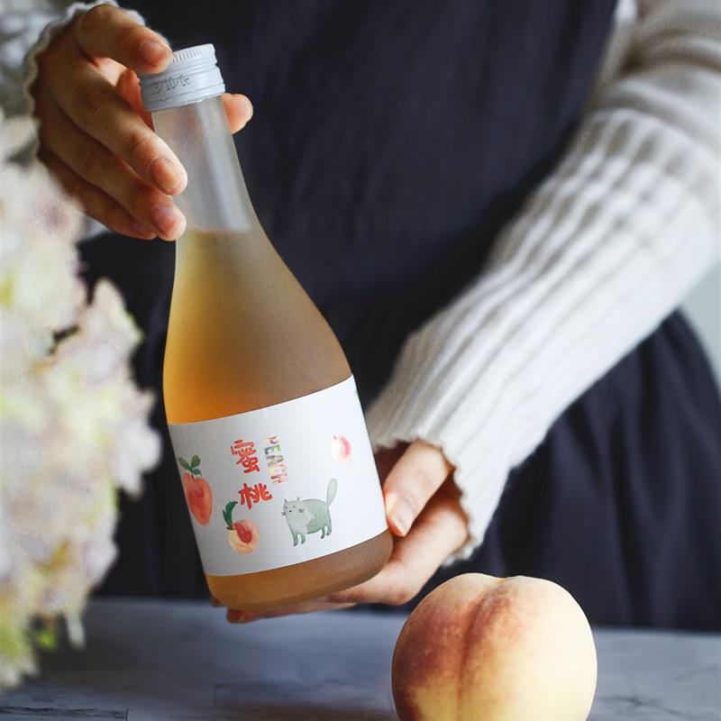 江南米酒 月子米酒 江南米酒 瓶装 蜜桃酒 1
