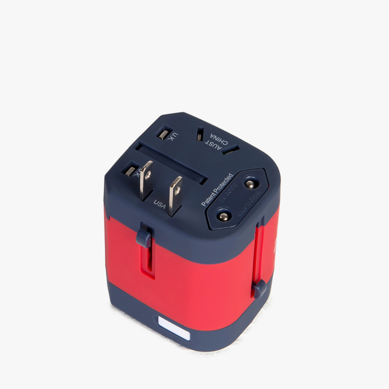 10523 旅行通用插入式电源转换头 Adapter Travel Supply Herschel