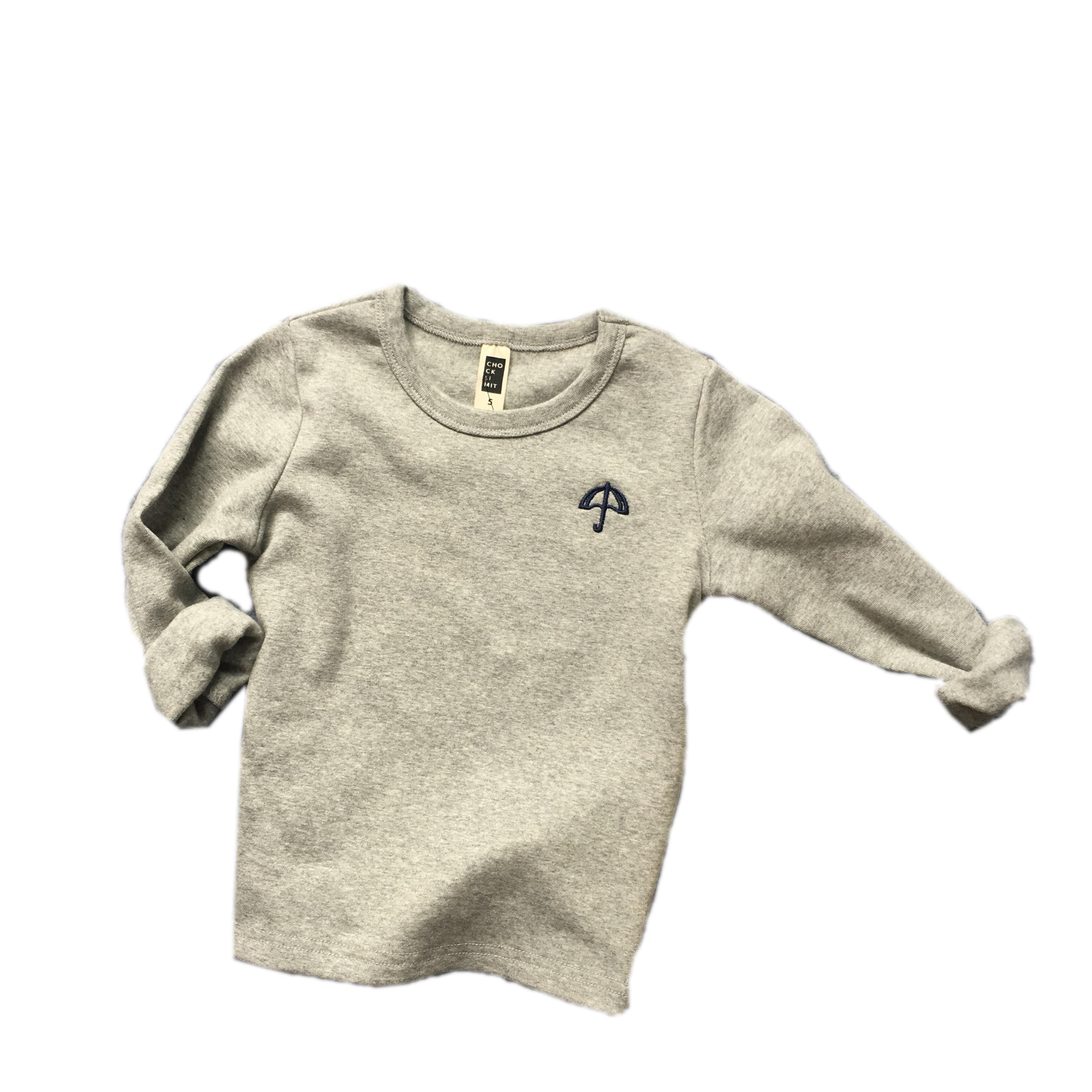 儿童t恤春秋新款男童磨毛圆领打底衫儿童百搭棉质多色长袖T恤