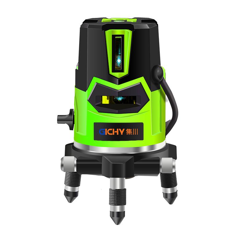红外线水平仪十字线平水仪绿光迷你高精度自动投线仪激光强光打线