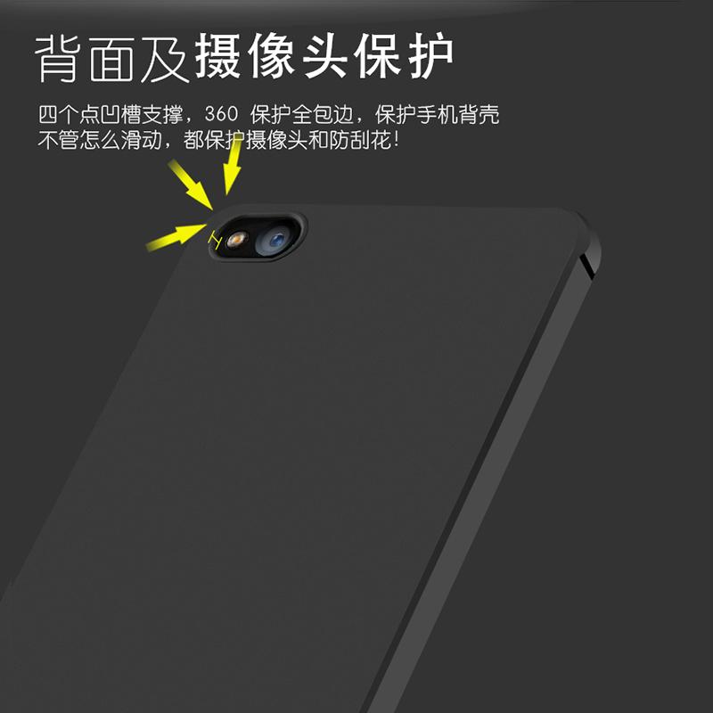 小米5c手机壳小米5x保护套米5防摔硅胶软胶全包边潮男女款创意五
