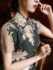 Lace cheongsam young girly temperament long daily improved version Chinese style old Shanghai retro dress summer