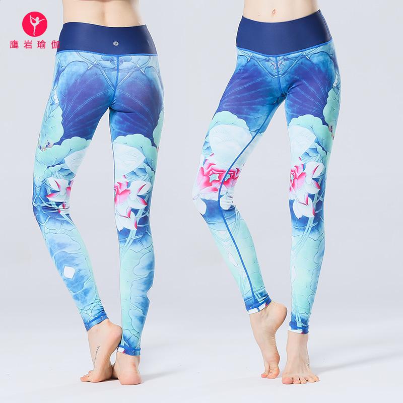 lulu 瑜伽裤子女夏紧身弹力高腰塑腿裤运动裤体操裤跑步裤舞蹈裤
