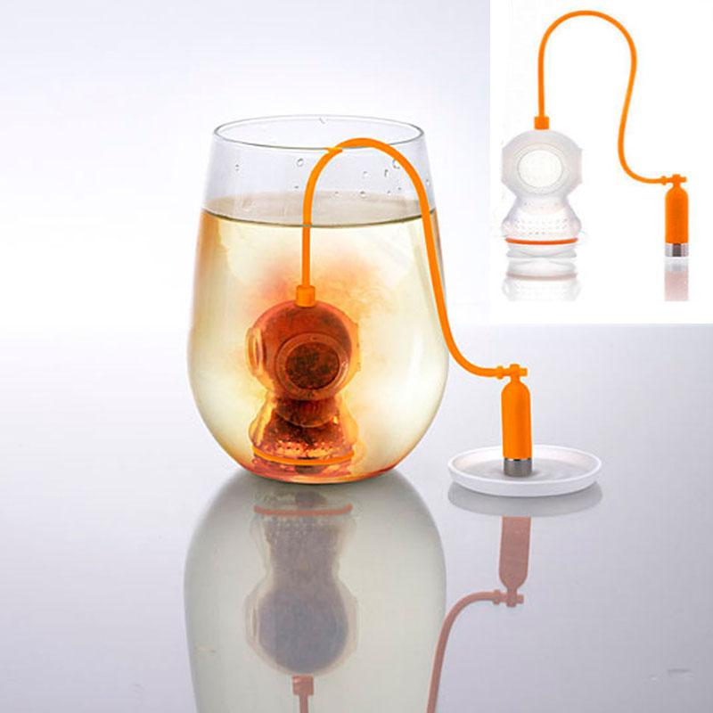 韓國進口Tea diver可愛潛水員茶包 茶漏 濾茶器 泡茶器 個性禮物