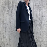 Spring 2020 design niche suit jacket women spring and autumn Korean version of the British style loose casual short suit