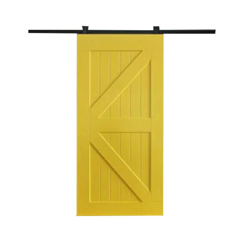 谷仓门北欧卫生间隔断移门厨房轻奢滑门推拉木门玻璃门吊轨定制门