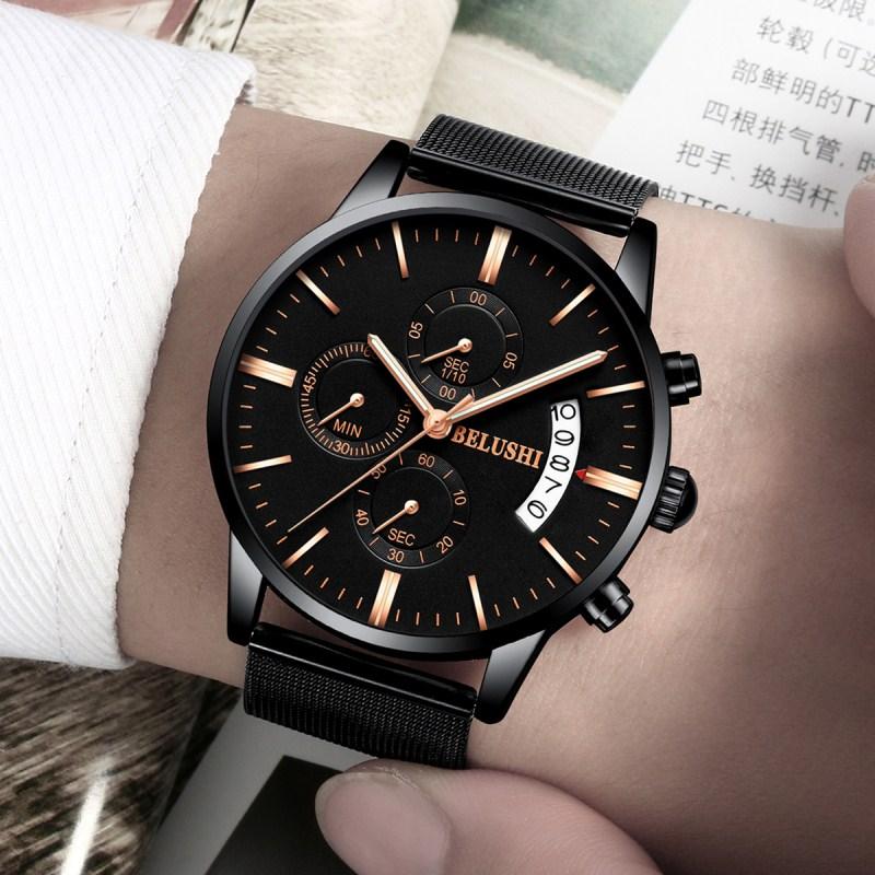 新款男表男士概念 2018 正品手表男学生运动石英表防水时尚非机械表