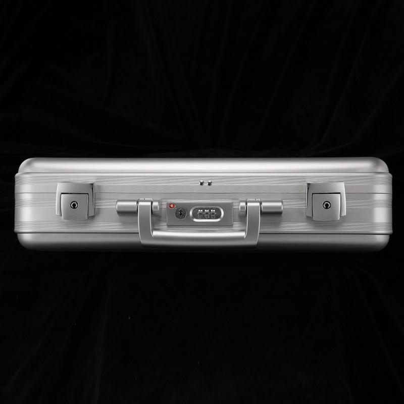 铝镁合金公文箱包 时尚手提商务电脑密码箱男女 多功能收纳工具箱