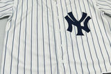 Yankee NY baseball uniform short-sleeved cardigan male loose large size T-shirt bf hip-hop hip-hop digital jersey female class service No. 7