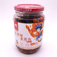 曲靖特产阿诗玛小米辣韭菜花450克一瓶包邮酱菜泡菜酸辣剁椒腌菜 (¥14)