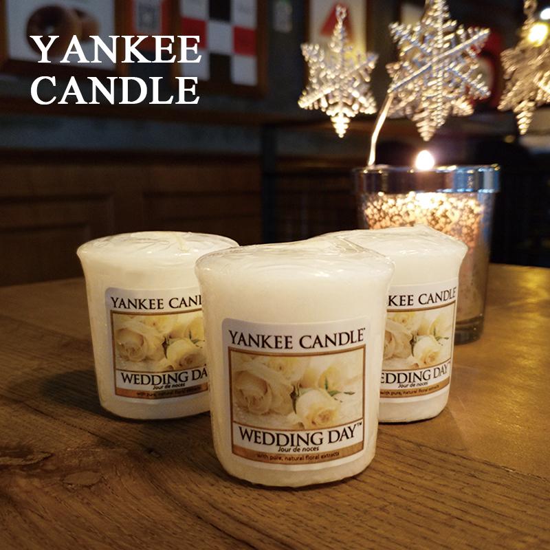 扬基香薰蜡烛卧室无烟许愿烛香氛浪漫蜡烛杯礼盒 candle yankee