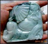Laokeng Youqing Piaohua Original Stone Carving Zhongli Decoration Hand Play Specials