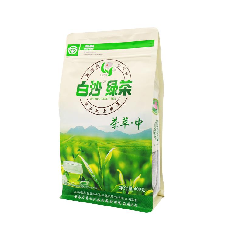 原产地直发 新茶 2018 大碎茶 海南白沙陨石坑绿茶茶萃中