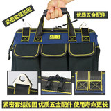 Super-resistant electrical tools canvas bag large thickening multifunctional service pack upgrade wear shoulder bags hardware tools