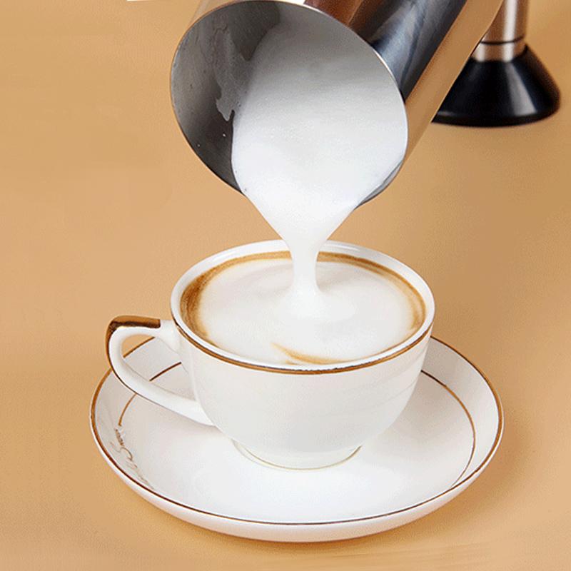 打奶泡器 不锈钢手电动打奶器 花式咖啡牛奶搅拌机强马力 打泡器