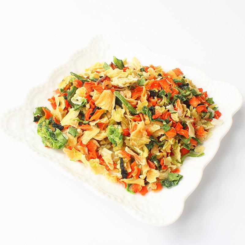 脱水蔬菜干泡面伴侣方便面蔬菜包煮汤配菜萝卜万年青菜葱户外500g