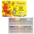 Japanese sakura sakura brand oil pastel 48-color set is not dirty, hand can be washed, kindergarten learning stationery, baby primary school students, coloring art painting graffiti pens children's crayons colored pens