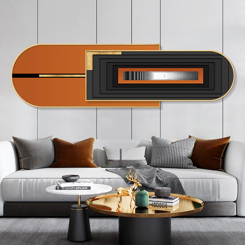 现代简约客厅装饰画沙发背景墙壁画轻奢抽象卧室床头创意挂画墙画