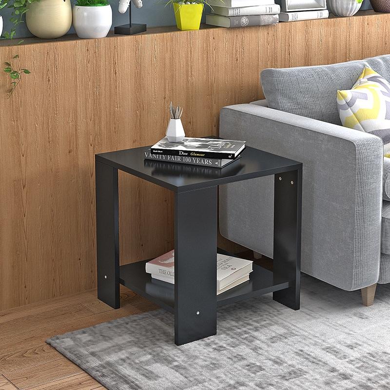边几角几双层小茶几客厅边桌沙发几多功能方形床头桌笔记本电脑桌