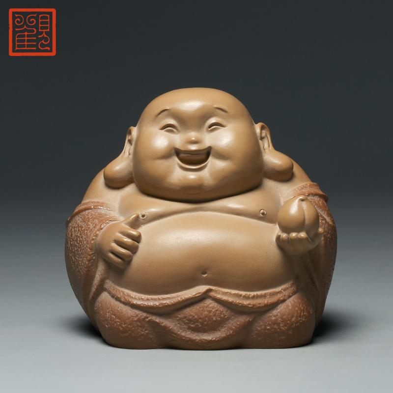 观复博物馆林昭发福禄寿喜石雕微雕刻摆件台湾铁丸石收藏工艺佳品