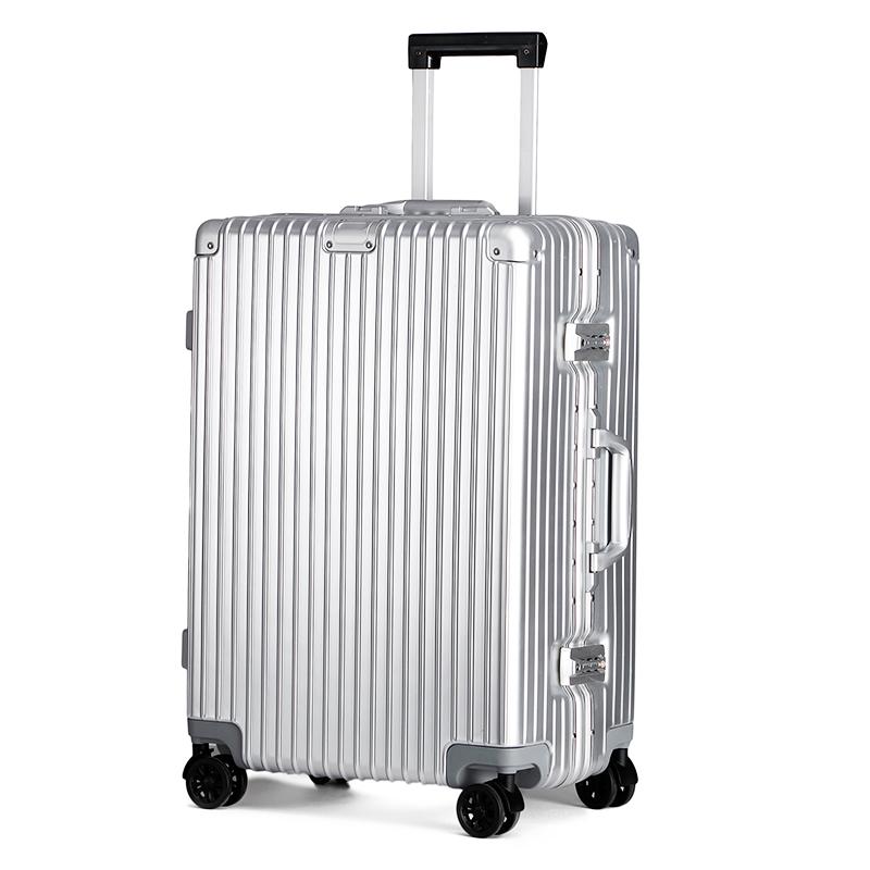 铝框拉杆箱男行李箱女万向轮商务旅行箱登机箱子韩版密码箱20寸24