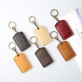 Leather mini bus card access control card protective cover subway card octopus attendance icid student meal card cover