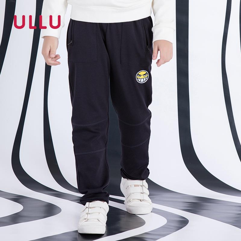 [淘寶網] ULLU優露童裝男童2018年春裝卡通繡標休閒長褲子