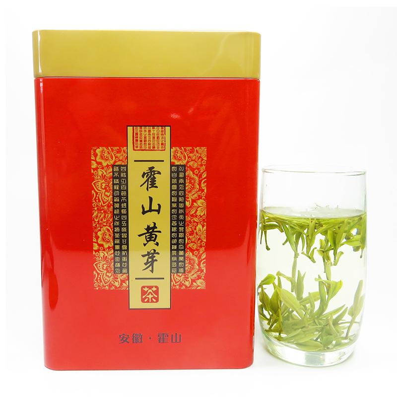 克黄牙 250 特级茶叶兰花香野茶黄茶嫩芽 年新茶 2018 明前霍山黄芽