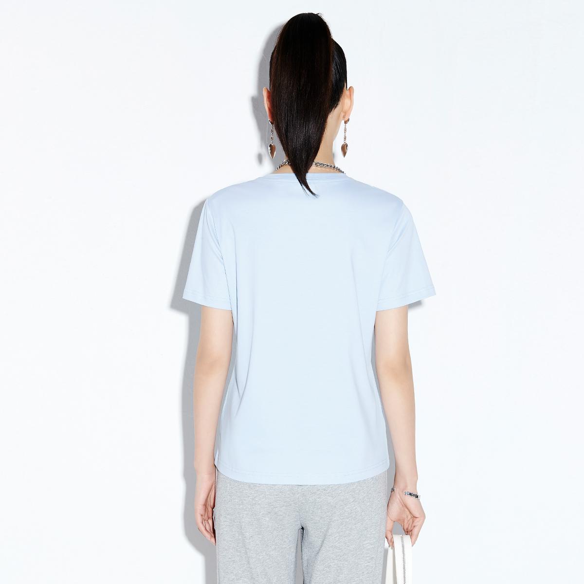 【纯色圆领 基础T】圆领基础T恤 V212TXG042 No.3