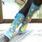 Evercreatures英国雨靴女成人水鞋套防滑橡胶靴子时尚高筒雨鞋 女